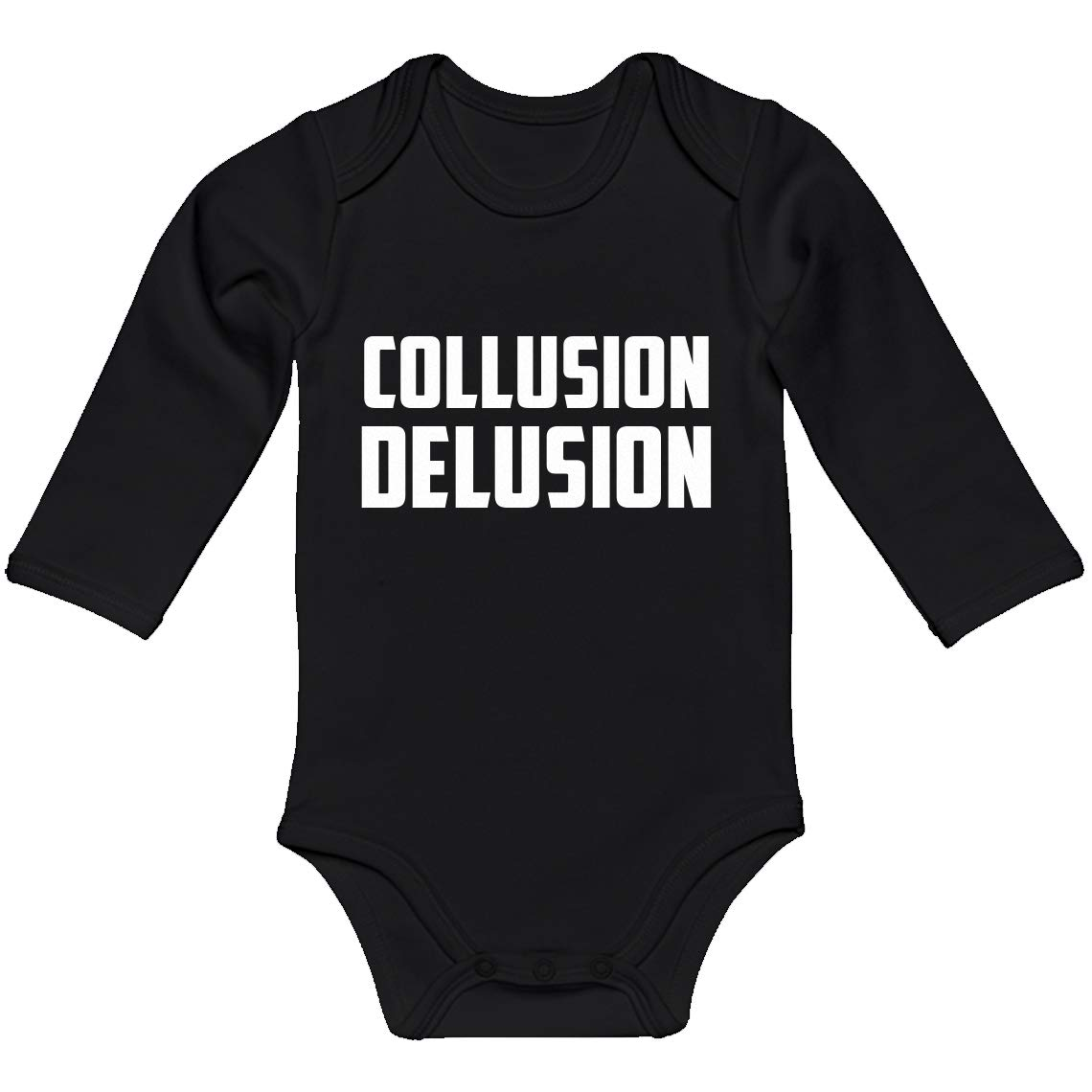 Indica Plateau Baby Romper Collusion Delusion 100/% Cotton Long Sleeve Infant Bodysuit
