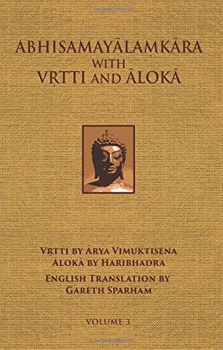 Read Online Abhisamayalamkara with Vrtti and Aloka - Vol. 3 ebook