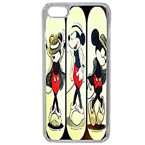 Lapinette COQUE-5C-MICKEY-JACKSON - Funda para Apple iPhone 5c, diseño Disney Mickey Jackson