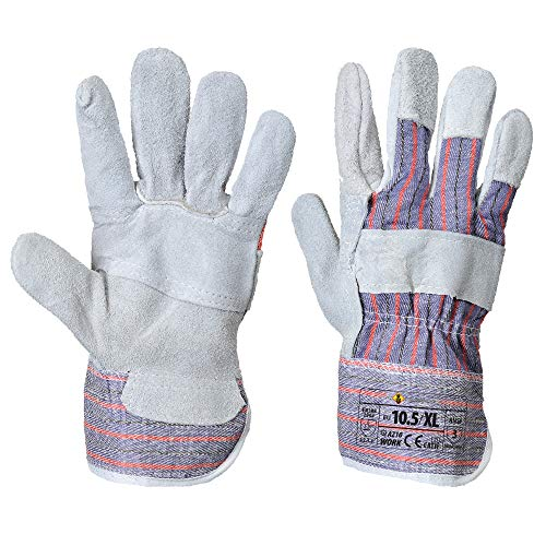 Canadian Rigger Gloves - Work Glove for Men and Women (3XL, Gray, 12 Pairs) ()