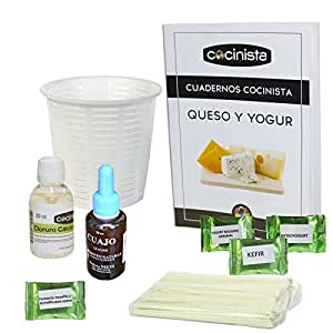 Kit para hacer queso fresco y yogur