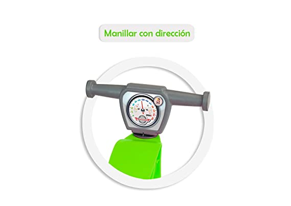 Chicos - Correpasillos Mini Custom Verde (Fábrica de Juguetes ...
