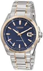 """Citizen Men's NB0046-51L """"Grand Classic"""" Stainless Steel Automatic Watch"""