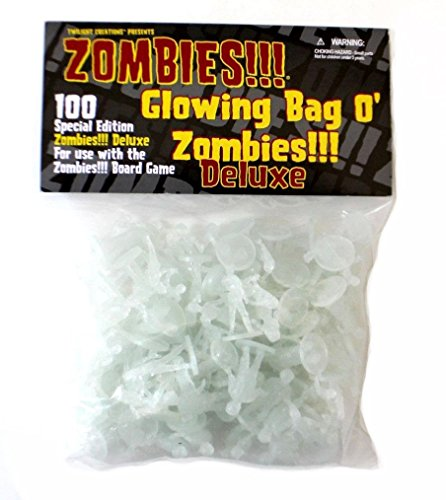 Twilight Creations TLC2024 Zombies Accessory Glowing Bag O' Zombies Deluxe Board Game -