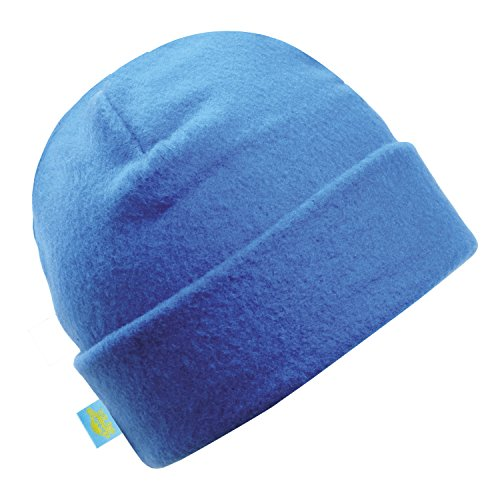 Turtle Fur Original Fleece The Hat Heavyweight Watch Cap Beanie, Poseidon Blue, One Size