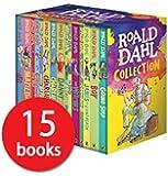 Roald Dahl 15-Book Boxed Set-PROP-RMS