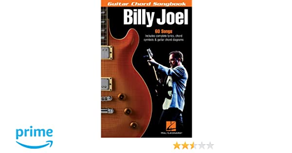 Amazon Billy Joel Guitar Chord Songbook 6 Inch X 9 Inch