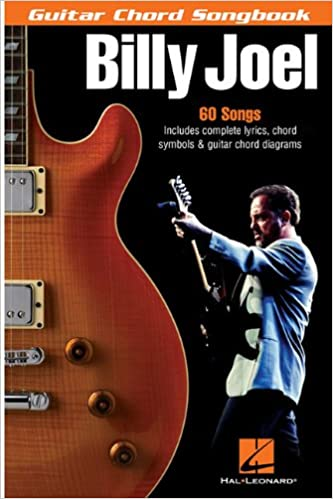 Amazon.com: Billy Joel - Guitar Chord Songbook: 6 inch. x 9 inch ...