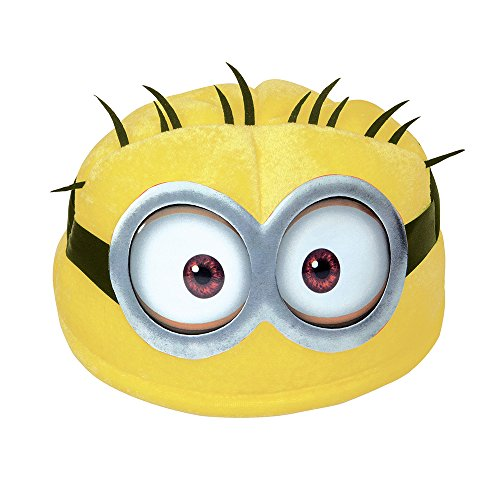 [Soft Despicable Me Minion Hat] (Adult Minions Costumes)