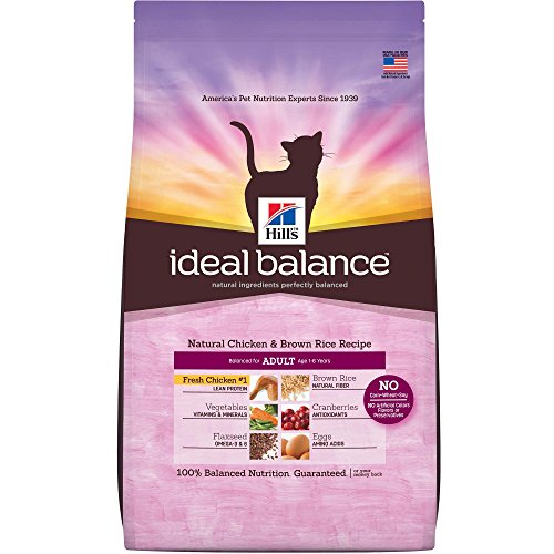 Hill's Ideal Balance Adult Natural Chicken & Brown Rice Reci