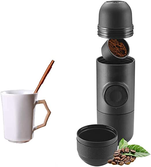 Yocobo Cafetera Pequeña Cápsula De Viaje Manual de la presión de ...