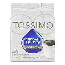 MAXWELL HOUSE Dark Roast Coffee, 109g, 14 Count