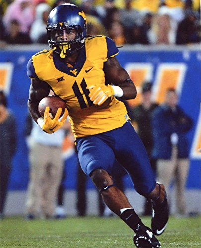 KEVIN WHITE WEST VIRGINIA MOUNTAINEERS FOOTBALL 8X10 SPORTS ACTION PHOTO (BB)