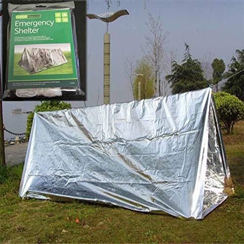 beed2dcb7763 Amazon.com: JULUJ Ultralight Portable Camping SOS Shelter Emergency ...