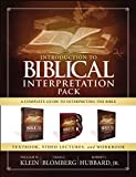 Books : Introduction to Biblical Interpretation Pack: A Complete Guide to Interpreting the Bible