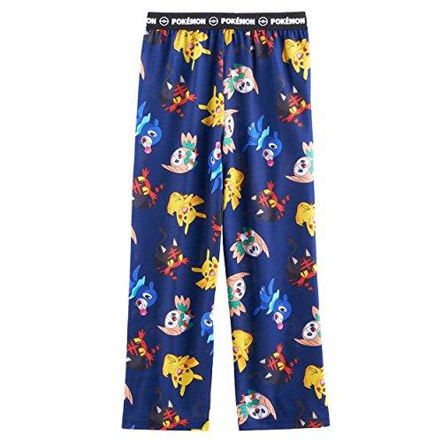 Navy Blue Boys Pajamas - 5