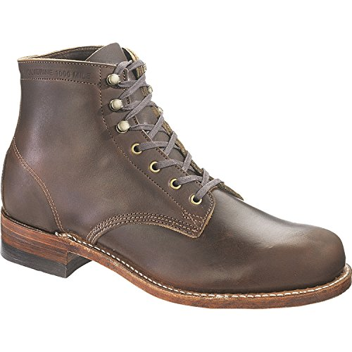 Wolverine Mens Boot 1000 Mile Boot Brown