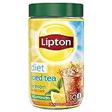 Lipton Iced Tea Mix, Diet Decaffeinated Lemon 10 qt (Pack of 4)