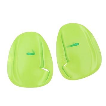 Amazon.com: baosity 1 par profesional palas de natación con ...