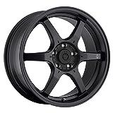 honda civic 17 inch rims - Konig Matt Black Wheel (17x7.5