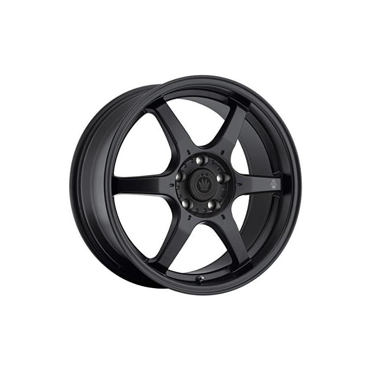 Konig Black Machined Wheel (16×7″/5×114.3mm)