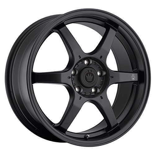 Konig Matt Black Wheel - Eclipse Tuner Mitsubishi