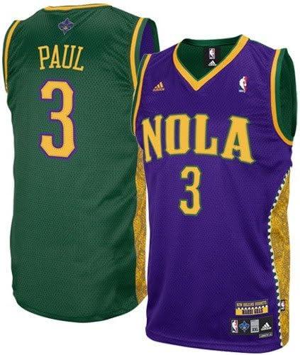 Amazon Com Adidas New Orleans Hornets 3 Chris Paul Gold
