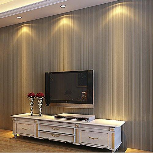 hanmero simple no tejido papel pintado rayas verticales para dormitorio sala de estar 053m10m