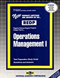 Operations Management I, Jack Rudman, 083735613X