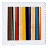 3dRose Alexis Photography - Abstracts - Abstract of metal and wood. Lines, colors, textures - 22x22 inch quilt square (qs_267215_9)