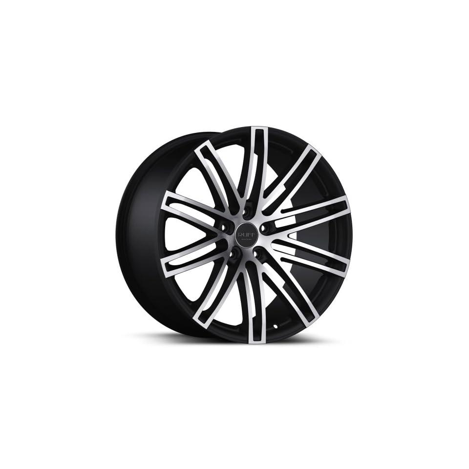 Ruff Racing R955 20x8.5 20x10 Mercedes Benz C E S Class Wheels Rims Machine Face Matte Black Lip Wheels 4pc 1set