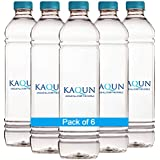 KAQUN WATER 6-pack, Oxygenated, refreshing, pronounced Cocoon