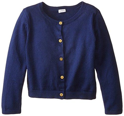 Carters Sweater Knit Cardigan Navy