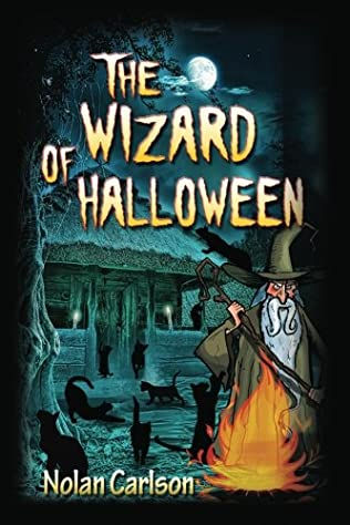 book cover of The Wizard of Halloween