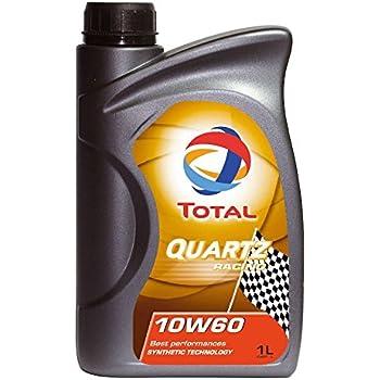TOTAL 182162-18PK Quartz Racing 10W-60 Engine Oil - 1 Liter (Pack