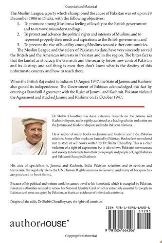 Kashmir Dispute Terrorism And Pakistan Dr Shabir Choudhry