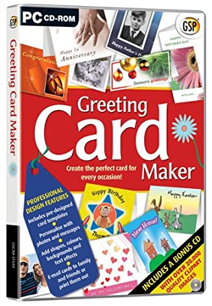 GSP Greeting Card Maker PC Amazoncouk Software