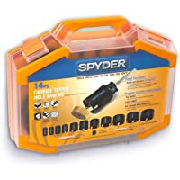 Spyder 14-Piece Carbide-Tipped Arbored Hole Saw Set