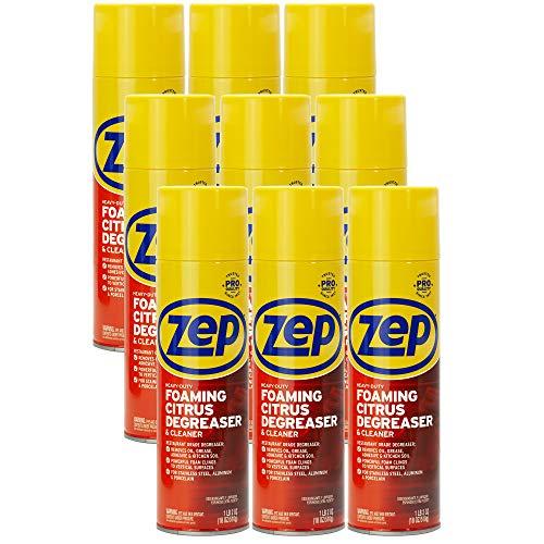 Zep Heavy-Duty Foaming Degreaser 18 ounce ZUHFD18 (Case of 12)