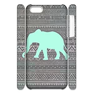 Aztec Elephant 3D-Printed ZLB533307 Brand New 3D Phone Case for Iphone 5C