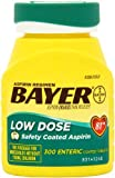 Safety coated aspirin; designed to dissolve in the small intestine, not in the stomach - Bayer Bayer Baby Aspirin Regimen Low Dose Enteric Coated Tablets