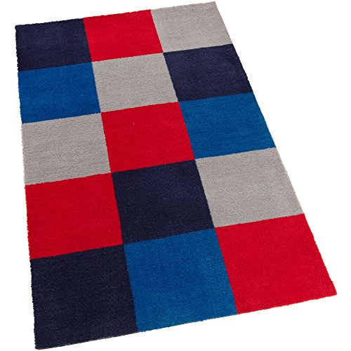 KidKraft Kids Decorative Patterned Rug, Blue by KidKraft
