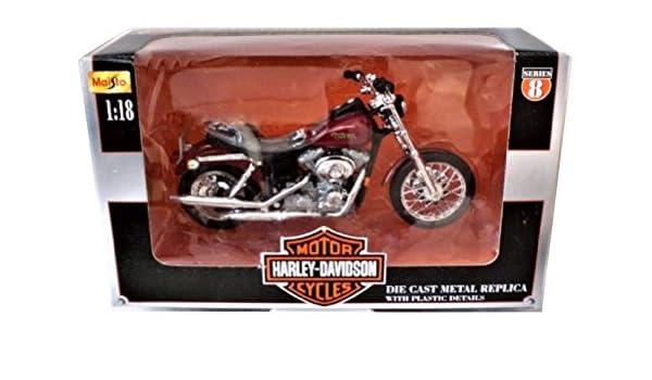 Amazoncom Maisto Harley Davidson 2000 Fxd Dyna Super Glide
