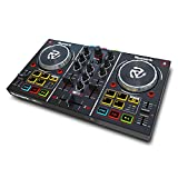 Numark Party Mix Beginner DJ Controller with Sound Card, Light Show, and Virtual DJ LE Software