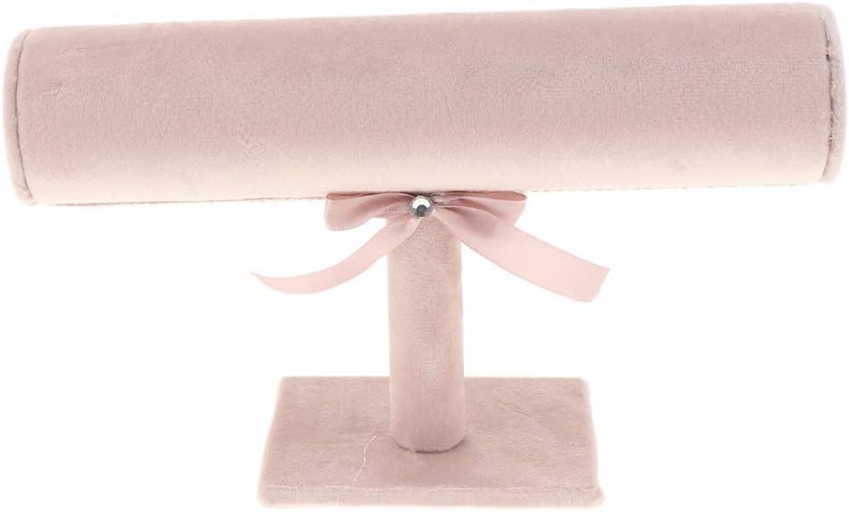 Rosa H HILABEE 1 Etage Schmuckst/änder Schmuckhalter Armbandst/änder f/ür Uhren Armband Halsketten Handschmuck
