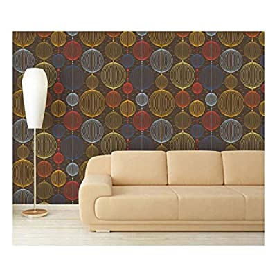 Marvelous Composition, Made With Top Quality, Large Wall Mural Abstract Seamless Pattern Vinyl Wallpaper Removable Decorating