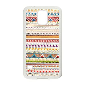 Nymeria 19 Customized Triangle Striped Diy Design For Samsung Galaxy S5 Hard Back Cover Case DE-51