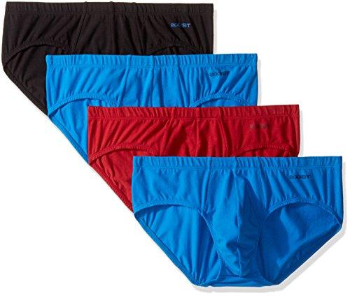 (2(X)IST Cotton Stretch 4 Pack Bikini Brief)