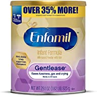 Enfamil Gentlease Infant Formula - Clinically Proven to reduce fussiness, gas, crying in 24 hours - Value Powder Can, 29.1 oz