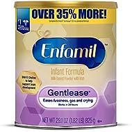 Enfamil Gentlease Sensitive Baby Formula Gentle Milk Powder, 29.1 Ounce - Omega 3 DHA, Probiotics, Iron & Immune & Brain Support